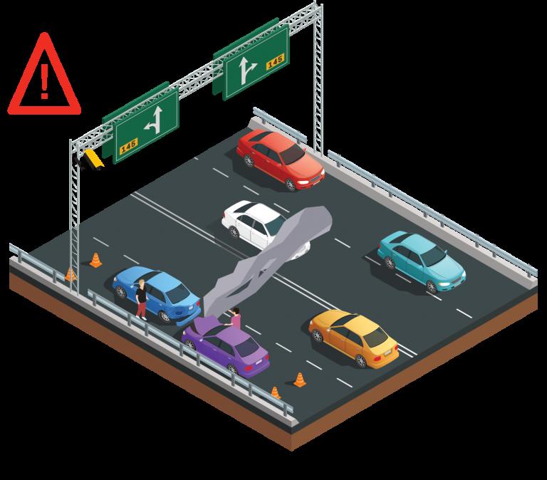 Détection automatique d'un accident routier